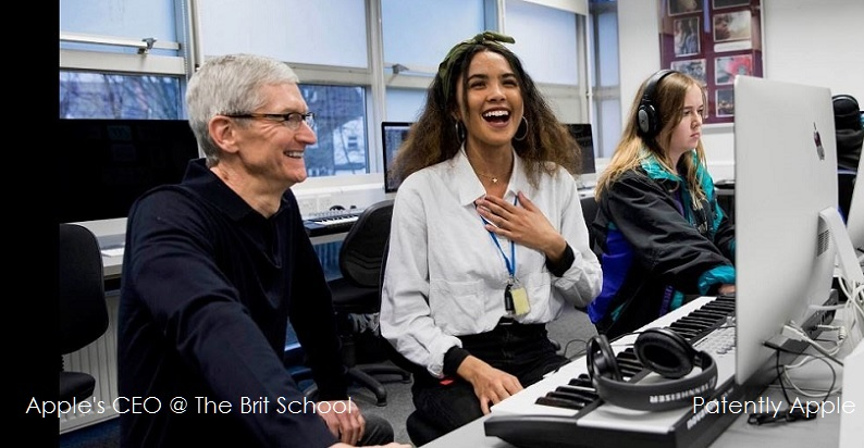 1AX 99 COVER TIM COOK THE BRIT SCHOOL