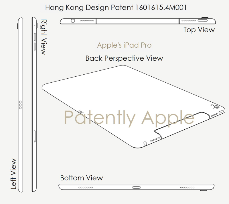 3AF X99 APPLE HONG KONG Design patent for iPad Pro