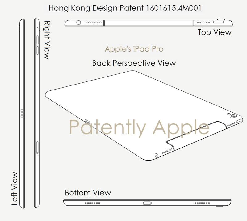 3AF X99 APPLE HONG KONG Design patent for iPad Pro
