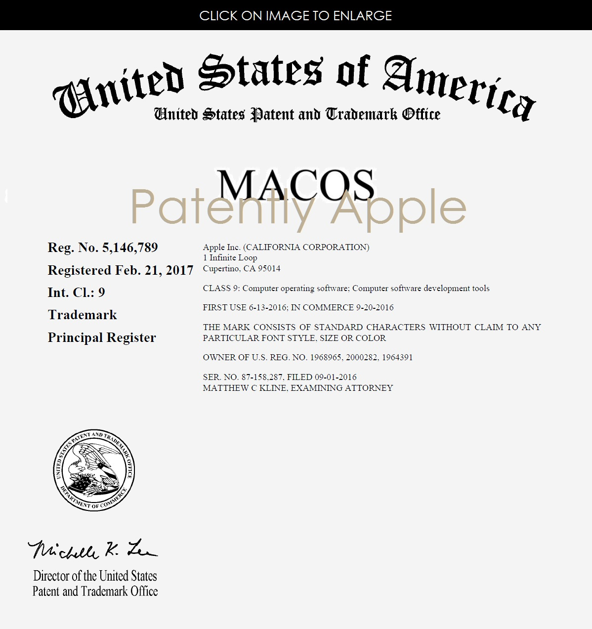 Apple awarded registered trademark certificates for macos logic 2af x99 macos rtm certificate feb 21 2017 biocorpaavc Gallery