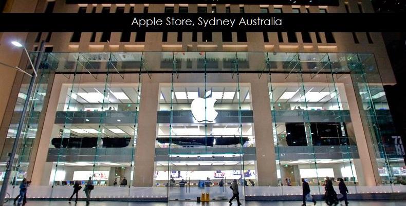 2af X Apple Store Sydney Australia