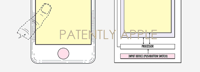 1af cover touch id beneath display patent