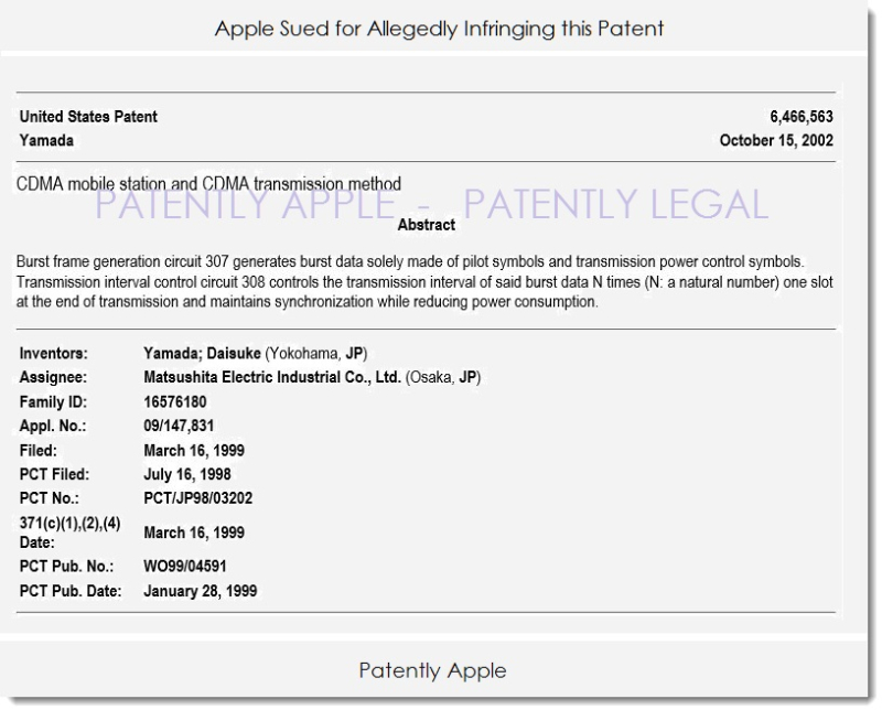 3AX APPLE SUED BY INVENTERGY
