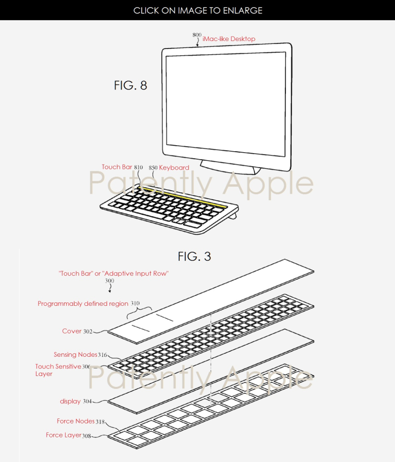 4AX 99 IMAC KEYBOARD AND TOUCH BAR