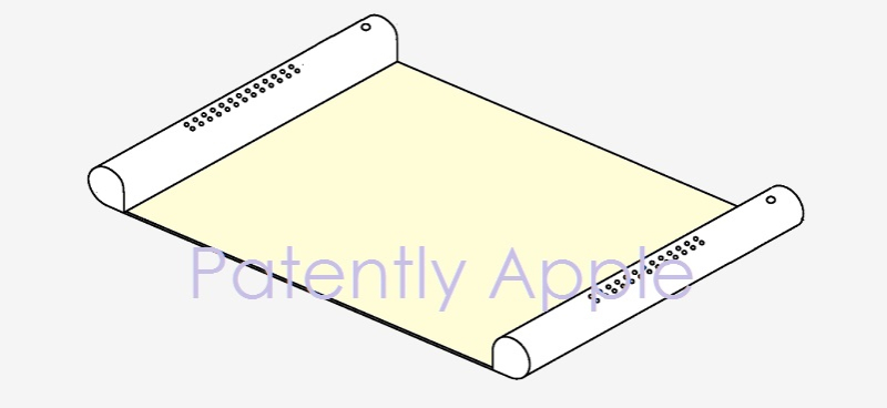 1 AF X99 COVER RETRACTABLE DISPLAY  Apple patent