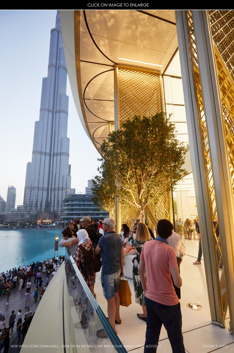 2AF X99 APPLE STORE DUBAI MALL OPENING DAY 4-27-2017