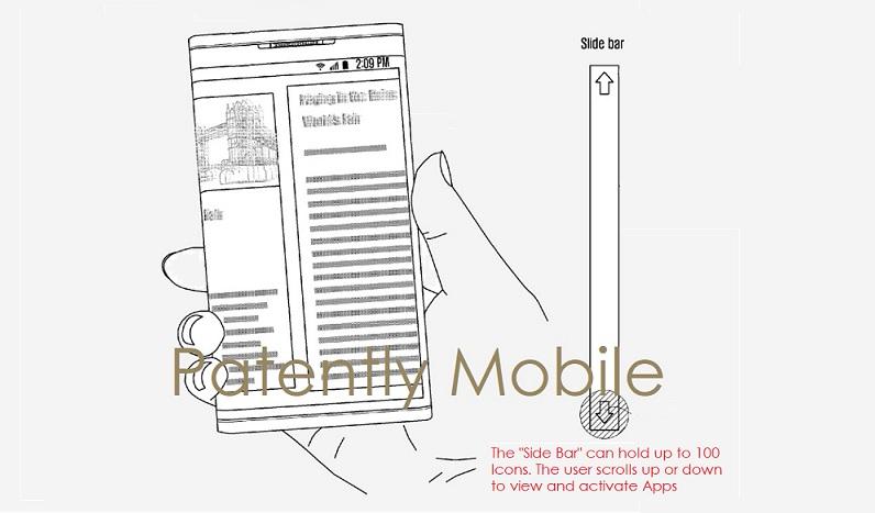 1 AX 99 SAMSUNG SMARTPHONE WITH WRAPAROUND DISPLAY
