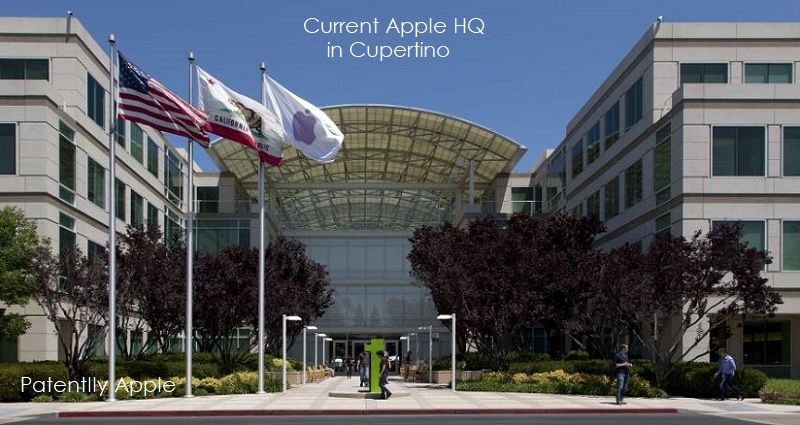 Two Older Apple Office Buildings in Cupertino were
