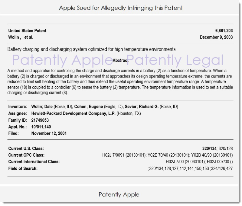 3AF X 99 patent troll uses hp patent to apple with