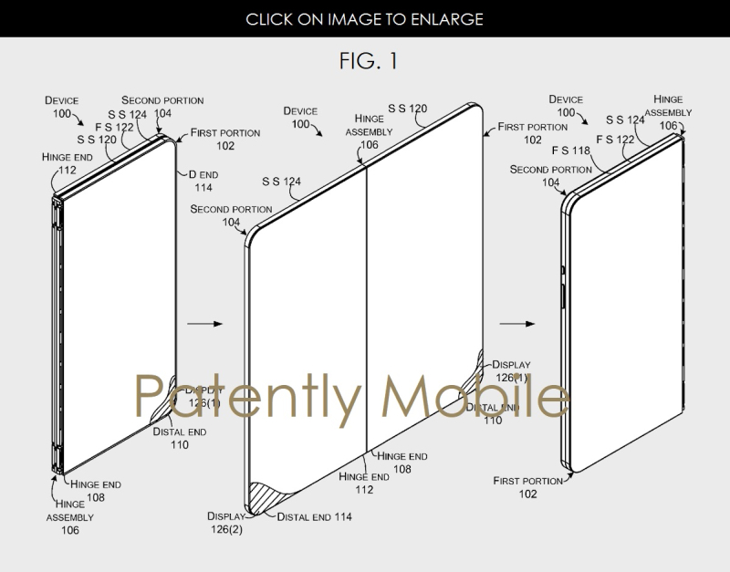 Microsoft continues to work on a Folding Smartphone while ...