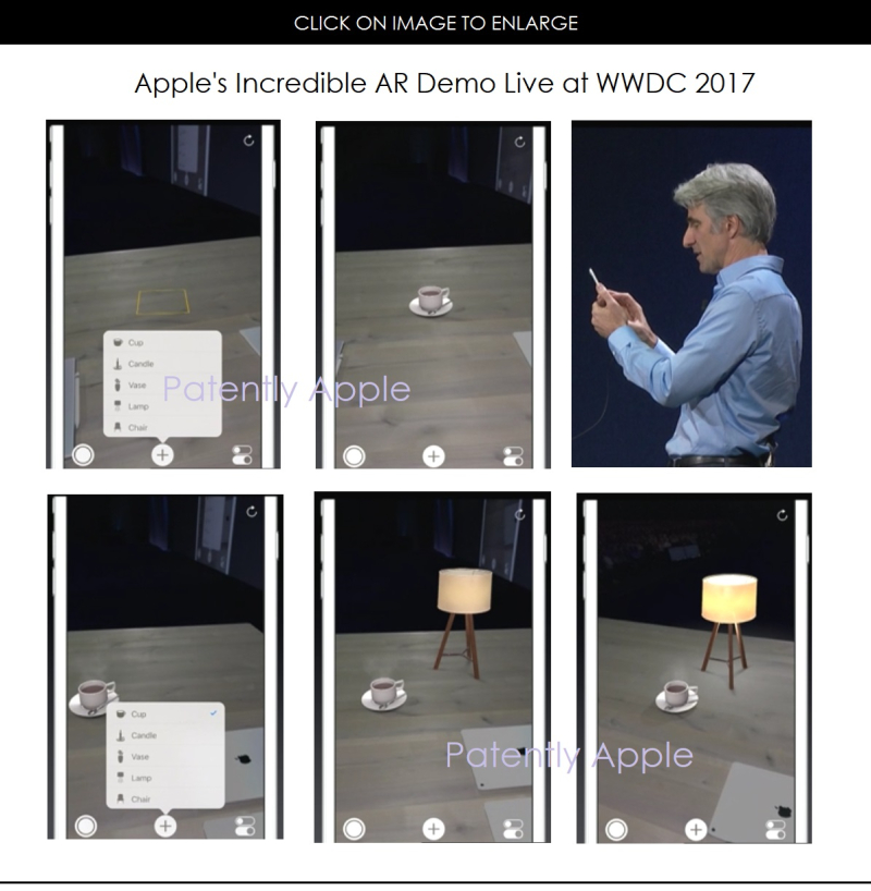 3AF X99 APPLE SVP SOFTWARE INTROS AR ON AN IPHONE LIVE