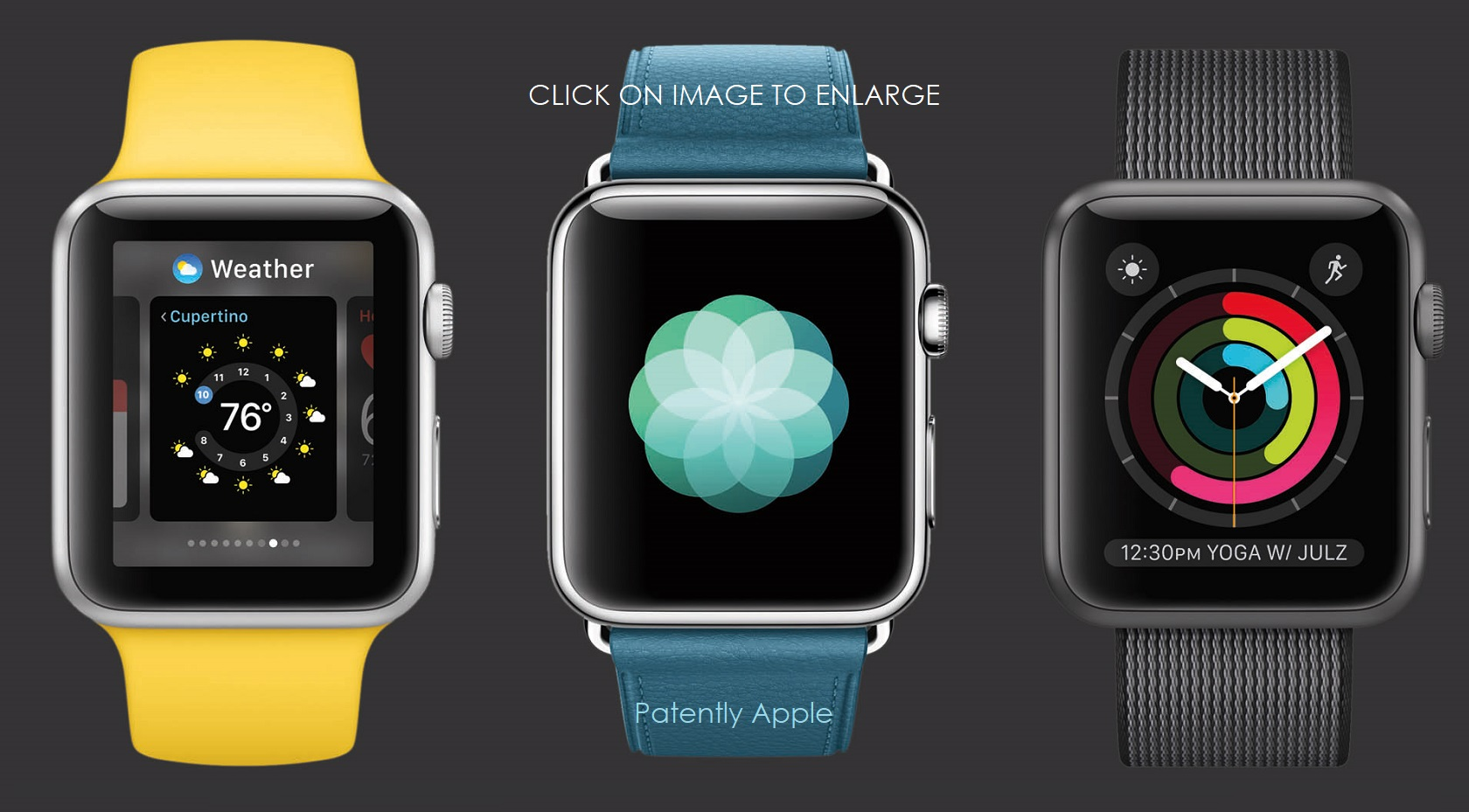 Apple Wins 11 Design Patents in China for iMessage and Apple Watch Eye Candy Interfaces