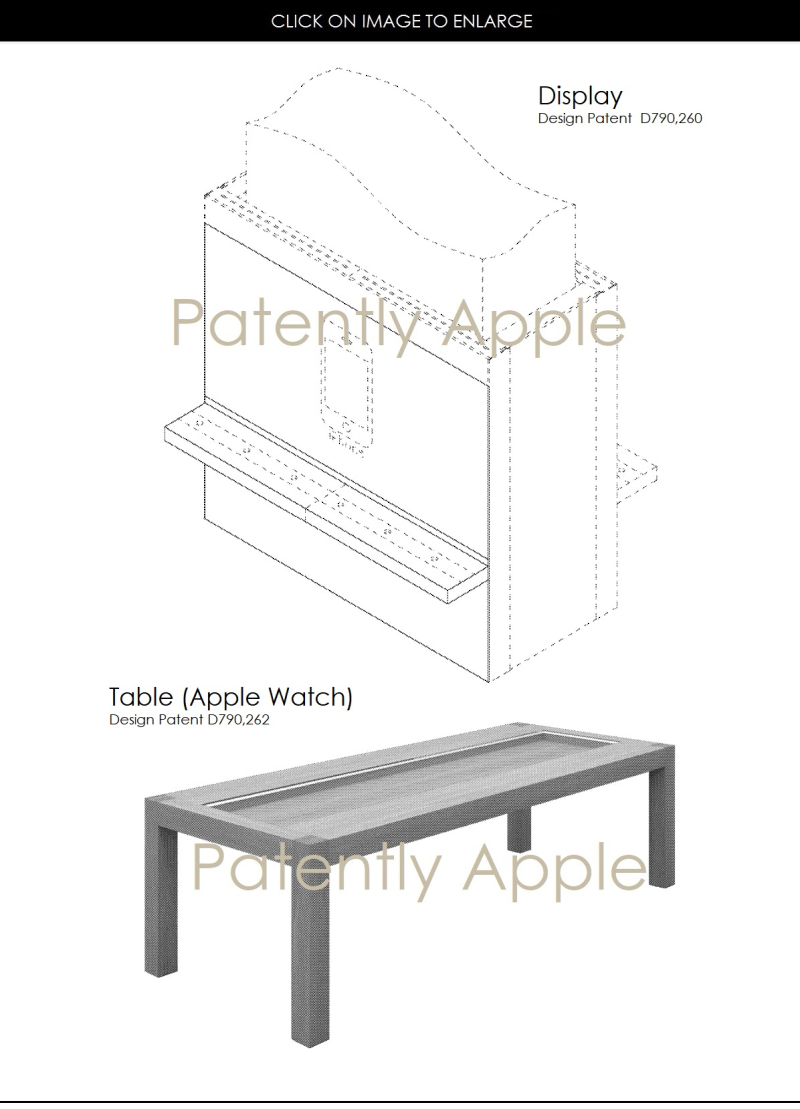 3 AF X APPLE DESIGN WINS FOR DISPLAY AND APPLE WATCH TABLE
