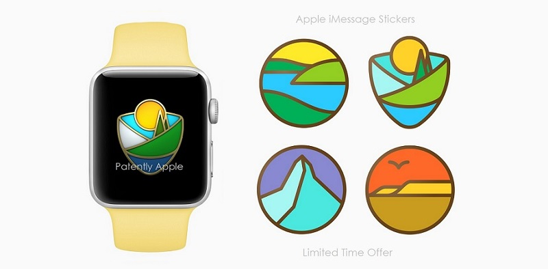 1 AF X99 2017 COVER apple watch national park stickers