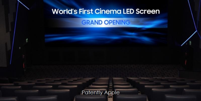 photo image Samsung makes Movie History by Introducing the World's first 'Cinema LED' Display replacing Cinema Projectors
