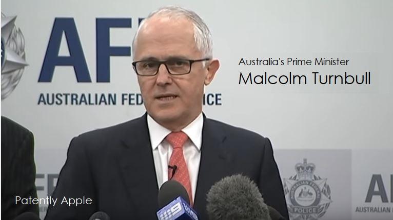 1af x99 2017 Australia's Prime Minister on encryption