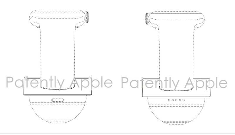 1AF X99 APPLE WATCH STAND DESIGN PATENT HONG KONG  PATENTLY APPLE  JULY 2017 - Copy - Copy