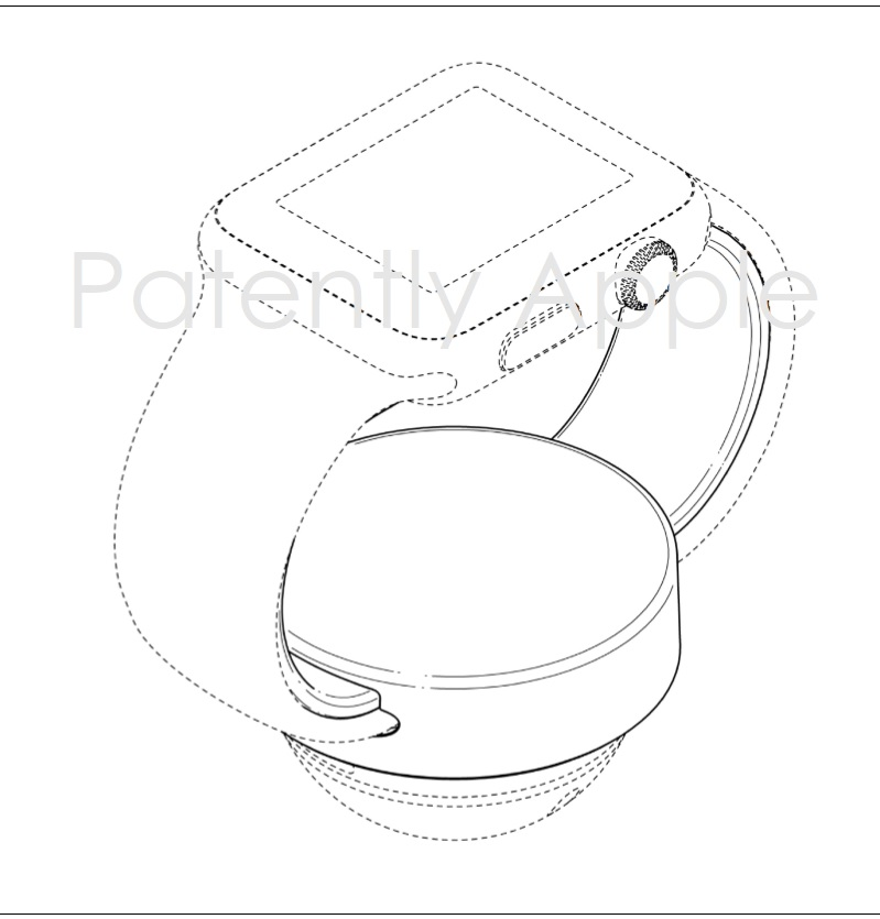 2AF X 99 APPLE WATCH STAND HONG KONG DESIGN PATENT  PATENTLY APPLE JULY 2017