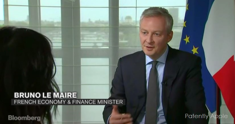 1AF X99 2017 - COVER FRENCH FINANCE MINISTER