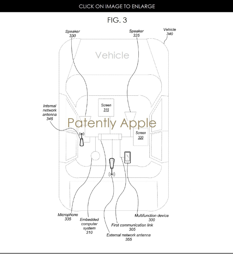 2AF X99 APPLE VEHICLE RELATED PATENT