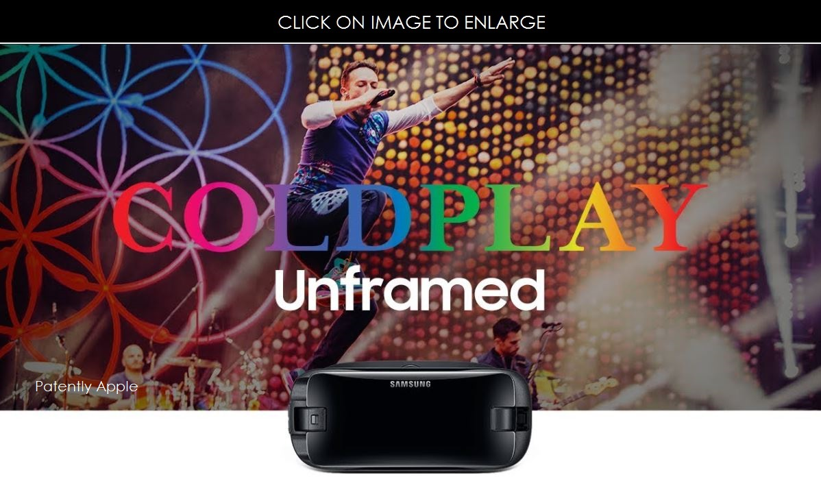 photo image Samsung Gear VR users will Experience Coldplay's Concert in Chicago Next Week with Coverage in 360 Degrees