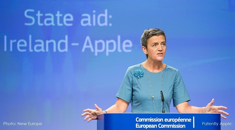 photo image Ireland close to a deal with Apple over holding Billions of Euros during the EU Tax Ruling Appeal Process