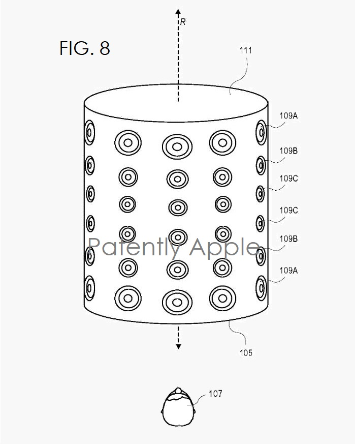 apple u0026 39 s invents a rotationally symmetric speaker array system that can detect where the listener