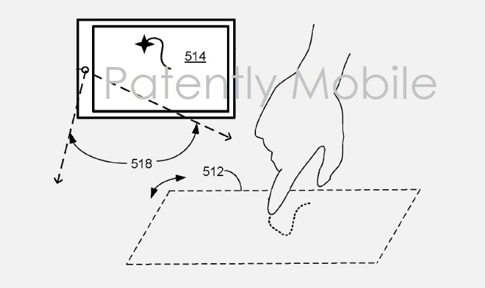 Microsoft invents 3D Camera System for Surface Devices that Recognizes Hand Gestures, Drawings & Writing
