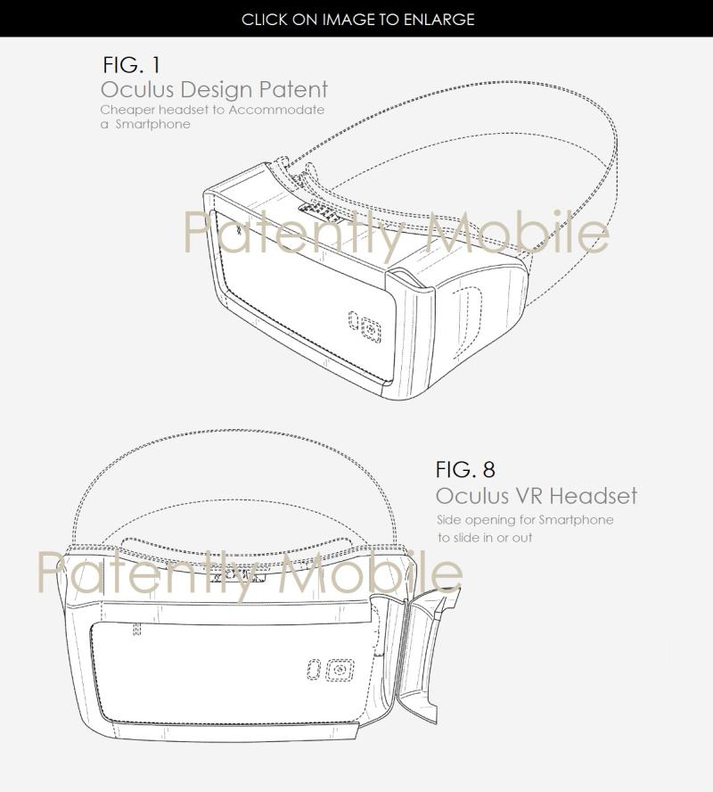 2af x99 Oculus VR Headset design patent win