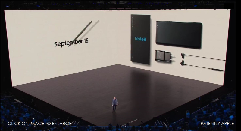 8 AF X SAMSUNG NOTE 8 LAUNCHES sept 15