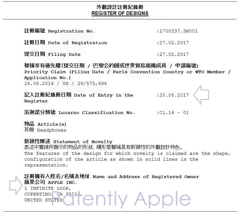2AF X99 APPLE DESIGN PATENT CHINA BEATSX