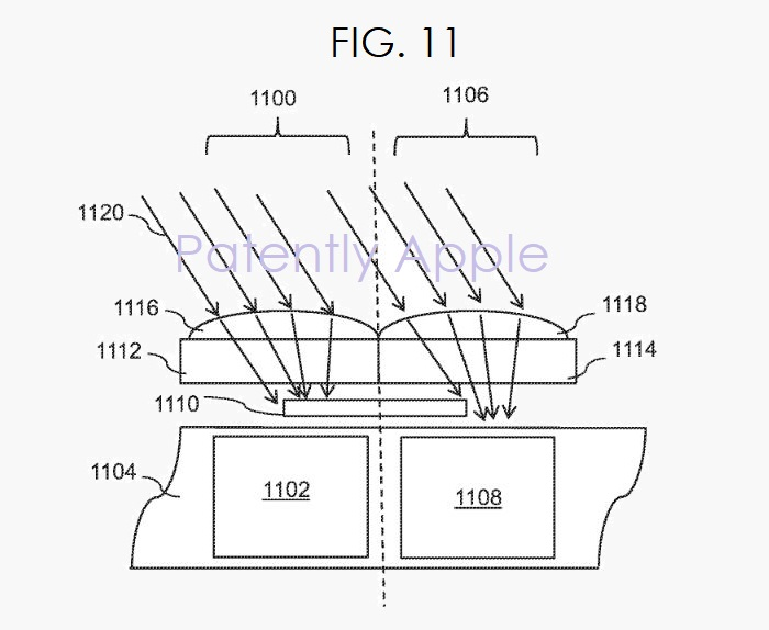 2AF X DEPTH CAMERA PATENT FIG. 11 APPLE GRANTED PATENT AUG 29  2017