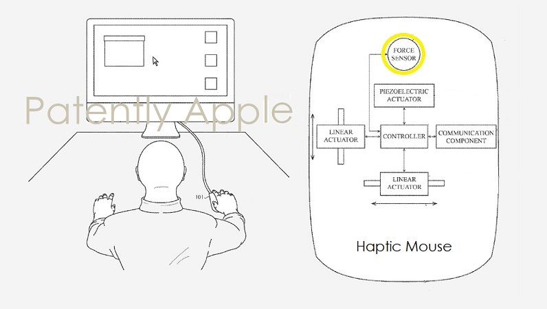 1AF X99 COVER APPLE HAPTIC MOUSE