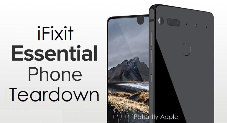 1AF X99 COVER IFIXIT VERDICT ON ESSENSIAL PHONE