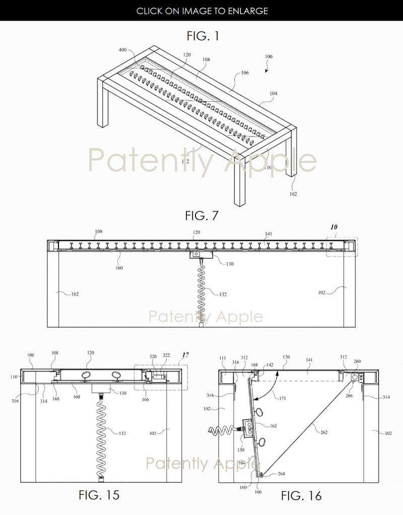 2AF X99 APPLE WATCH TABLE PATENT FIGS 1  7  15 & 16