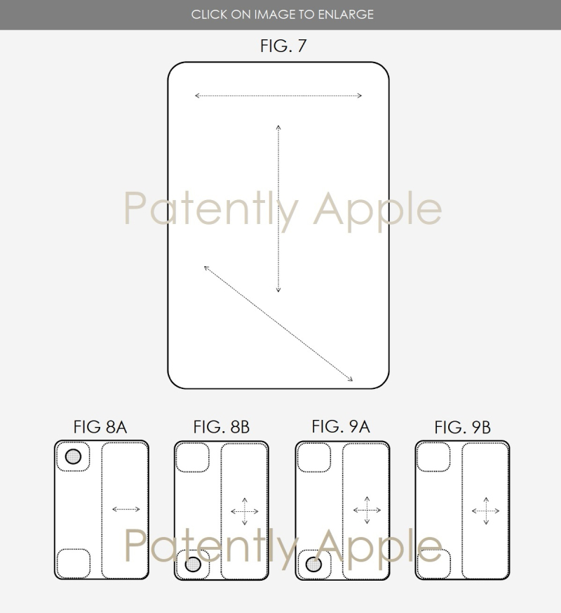 3AF X99 BACKSIDE GESTURES TOUCH AREAS FOR IPAD
