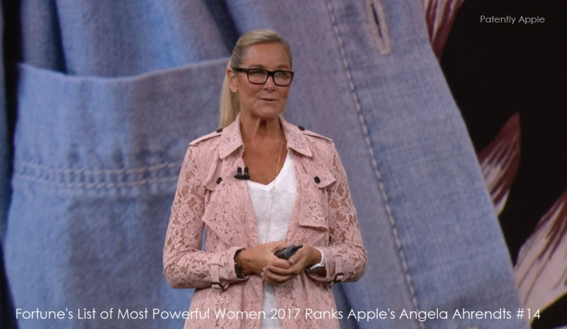 1AF X99 2017 - COVER ANGELA AHRENDTS IPHONE EVENT 201