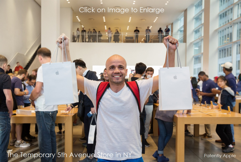2 - iphone8_launch-5th-ave_nyc_two_shopping_bags