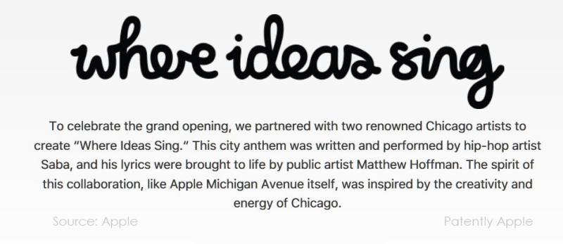 3AAF X APPLE STORE WHERE IDEAS SING