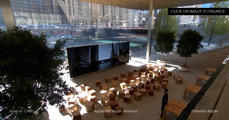 #11 apple store michigan avenue added photo from cnbc