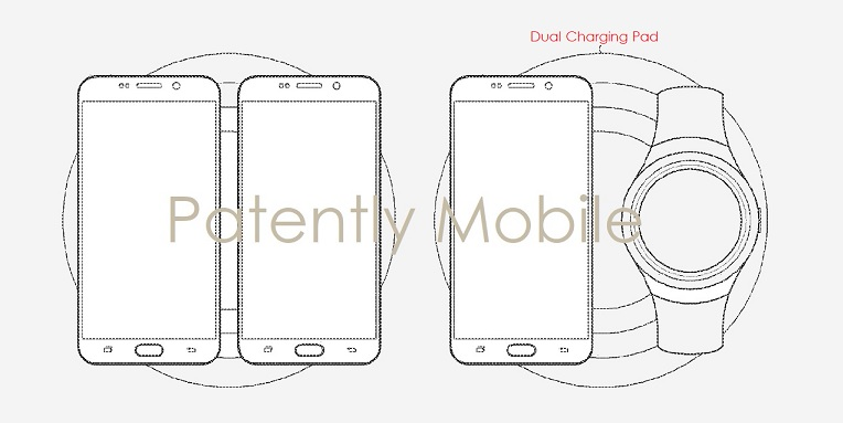 1 COVER SAMSUNG PATENT DUAL CHARGING PAD