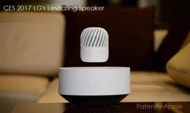 1 cover lg's levitating speaker