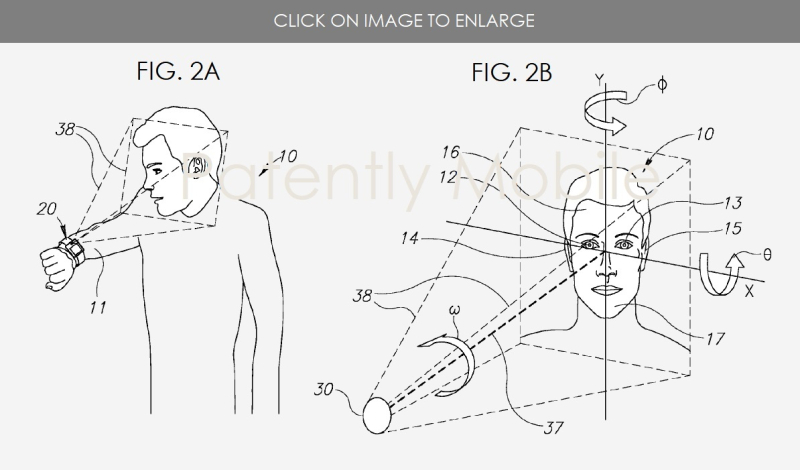 2 P-APPLE - msft patent Watch It feature