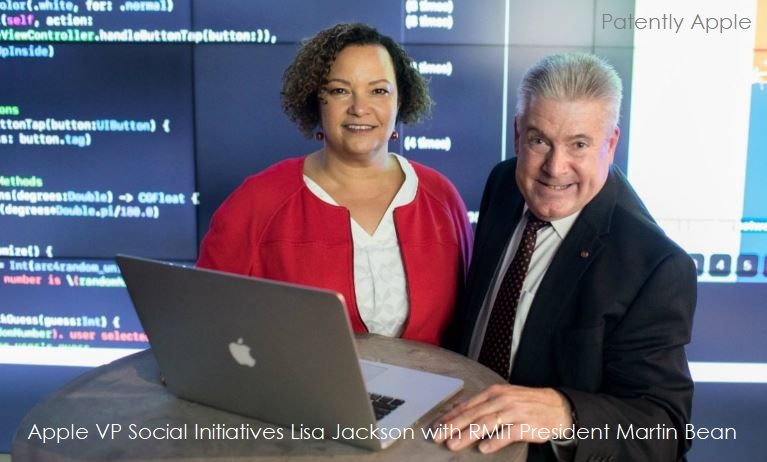 1 COVER lisa jackson with martin bean president RMIT