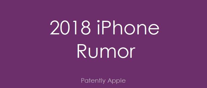 1 cover 2018 IPHONE RUMOR