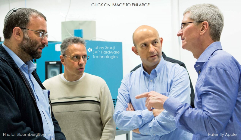 1 Apple's SVP hardware technologies Johny Srouji