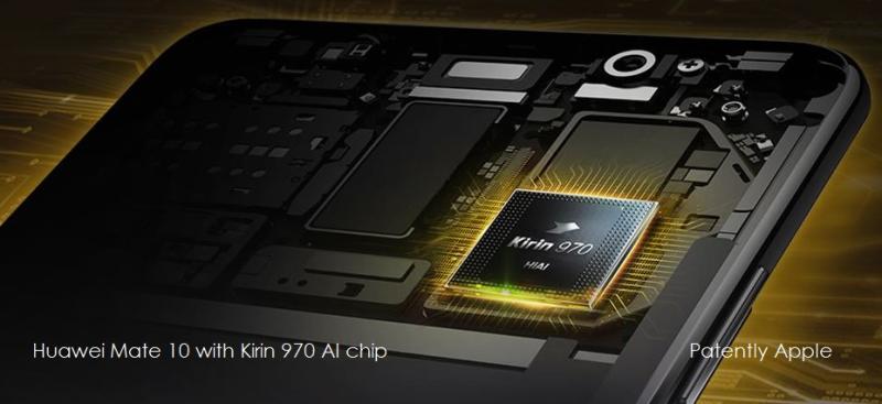 2 Huawei's Mate 10 Kurin 970 AI chip
