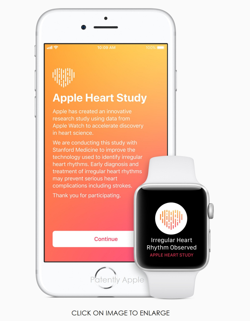 2 - iPhone Watch Heart Study intro screen