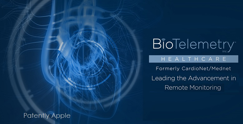 1 COVER BIOTELEMETRY PARTNERS WITH APPLE