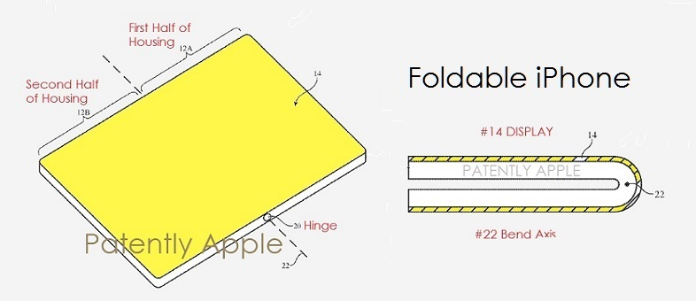 photo image Apple Wins Patents for Foldable iPhone Encapsulation, Hover Sensing Devices, Biometric AirPods & more